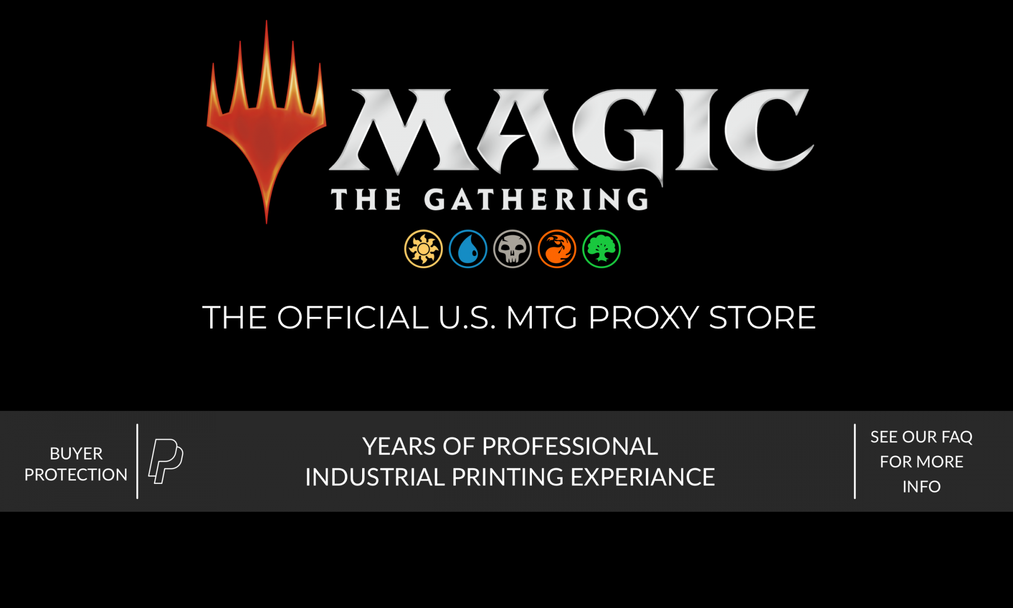 MTG PROXIES, MAGIC: THE GATHERING